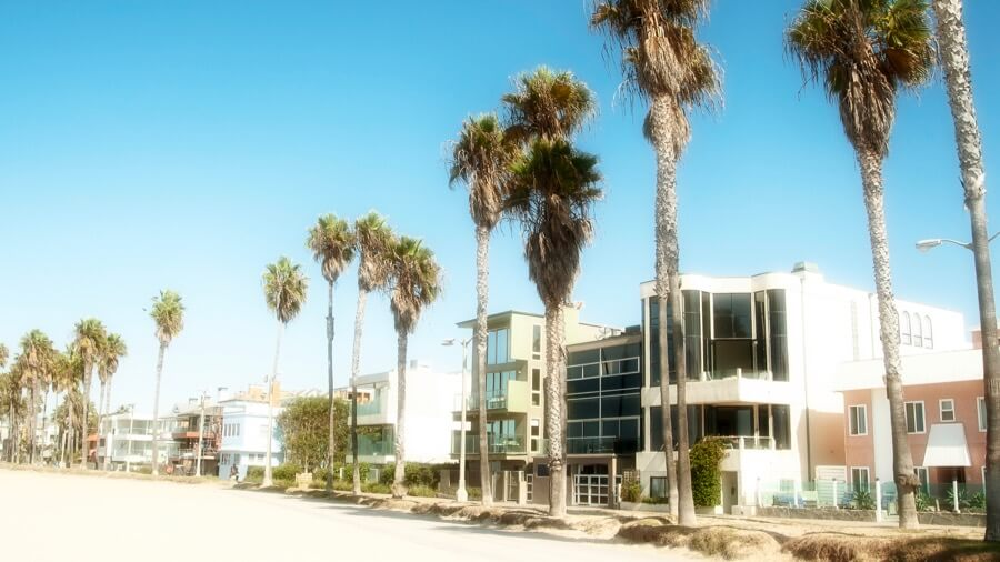 Venice Beach Pier Side